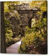The Ramble Stone Arch Canvas Print