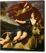The Rape Of Europa Canvas Print