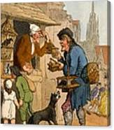 The Rat Trap Seller From Cries Canvas Print