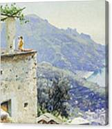 The Ravello Coastline Canvas Print