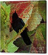 The Raven By Edgar Allan Poe  Canvas Print