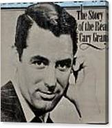 The Real Cary Grant Canvas Print