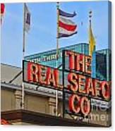 The Real Seafood Company 4201 Canvas Print