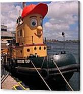 The Real Theodore Tug Boat Lives In Halifax Canvas Print