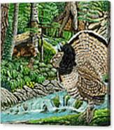 The Real Thunder Bird  Canvas Print