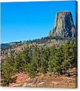 The Realm Of Devils Tower Canvas Print
