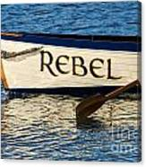 The Rebel Canvas Print