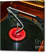 The Record Player Canvas Print