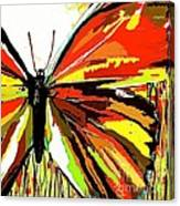 The Red Butterfly Canvas Print
