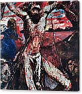 The Red Christ Canvas Print