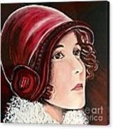 Red Cloche Canvas Print