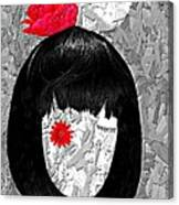 The Red Eye Canvas Print