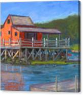 The Red Fish House Canvas Print