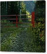 The Red Gate Canvas Print