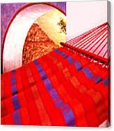 The Red Hammock Canvas Print