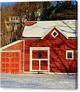 The Red Shed Canvas Print