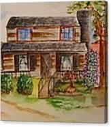 The Red Sleigh Shoppe Canvas Print