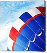 The Red White And Blue  Canvas Print