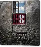 The Red Window Canvas Print