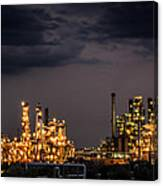 The Refinery Canvas Print
