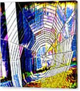 The Refracted Cobweb Canvas Print