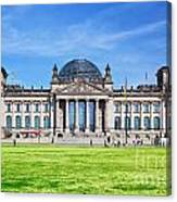 The Reichstag Building Berlin Germany Canvas Print