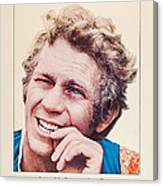 The Reivers, Us Poster, Steve Mcqueen Canvas Print