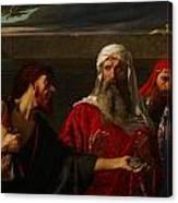 The Remorse Of Judas Canvas Print