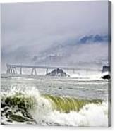 The Restless Sea Canvas Print