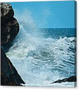 The Restless Sea Digital Art Canvas Print