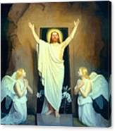 The Resurrection Of Christ By Carl Heinrich Bloch  Canvas Print
