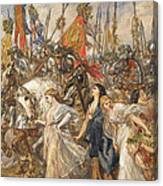The Return Of The Victors Canvas Print