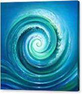 The Return Wave Canvas Print
