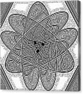 The Rh Molecule Canvas Print