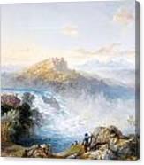 The Rhine Falls At Schaffhausen Canvas Print