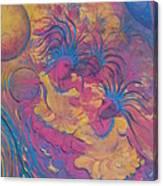 The Rhythm Of Carnival Canvas Print