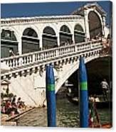 The Rialto Bridge Of Venice Canvas Print