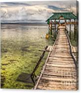 The Rickety Pier Canvas Print