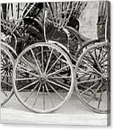The Rickshaws Canvas Print