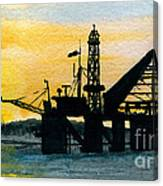 The Rig Canvas Print