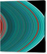 The Rings Of Saturn Canvas Print