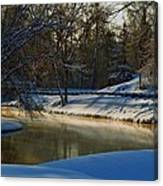 The River Bend Canvas Print