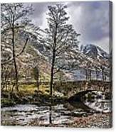 The River From Brothers Water Canvas Print