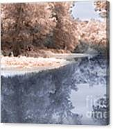 The River - Near Infrared Canvas Print