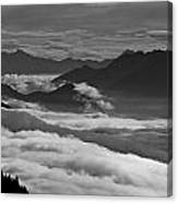 The River Of Clouds Canvas Print