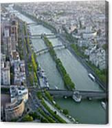 The River Seine Canvas Print