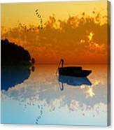 The Riverboat... Canvas Print