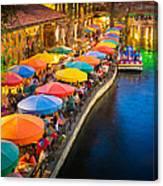 The Riverwalk Canvas Print