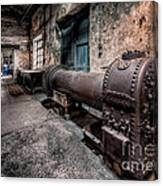 The Riveted Boiler Canvas Print