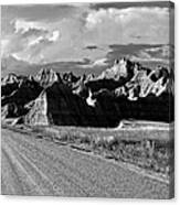 The Road From Interior Canvas Print